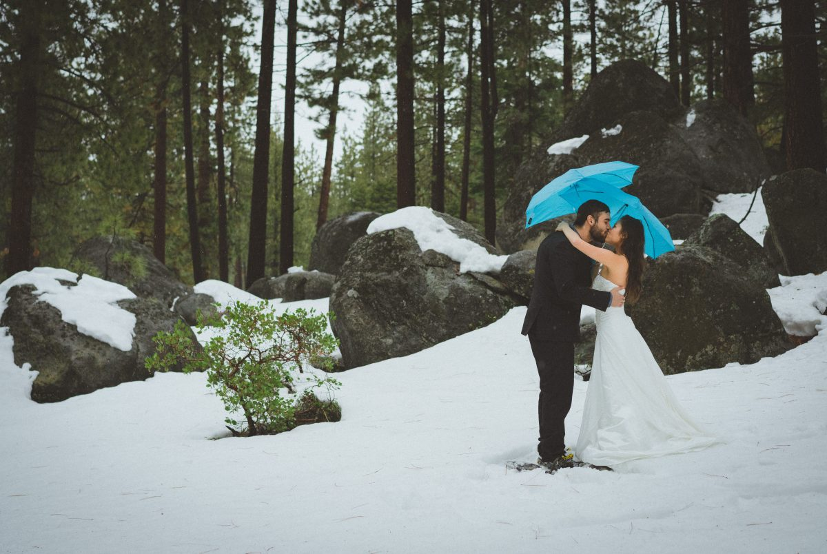 South Lake Tahoe Elopement Photography