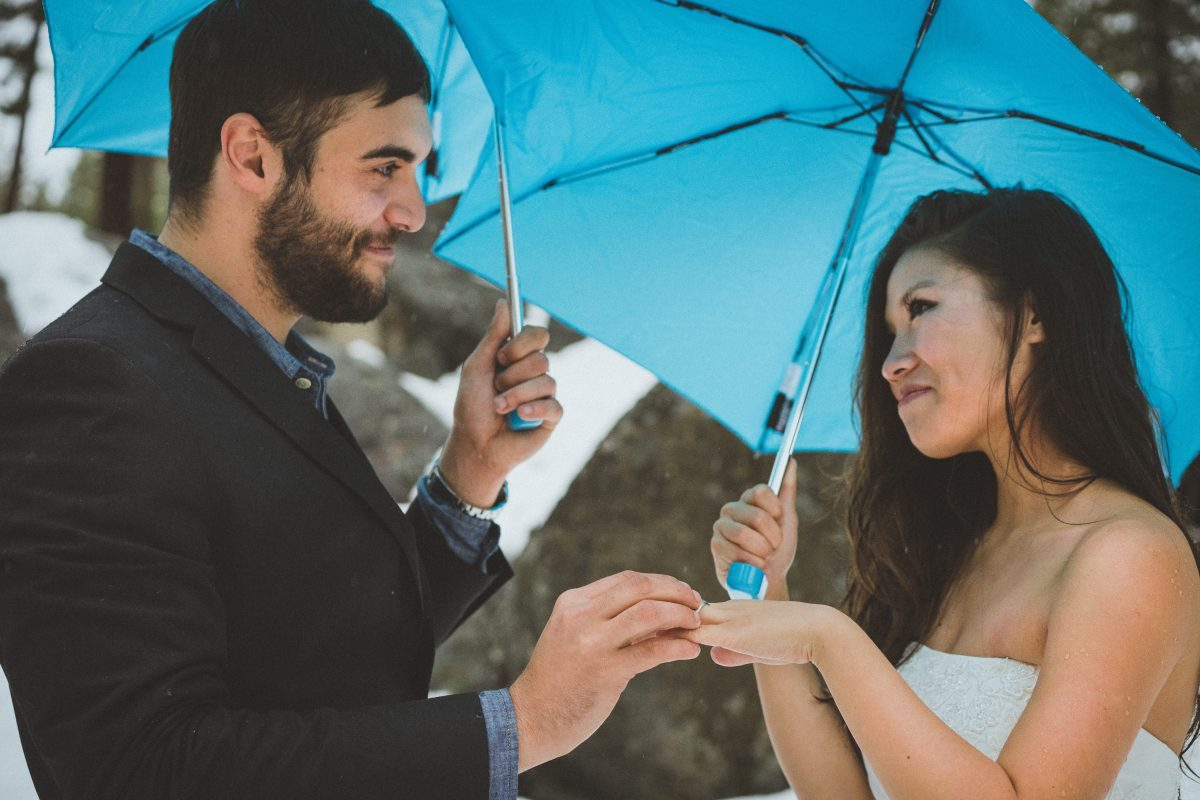 Lovers Elopement in Lake Tahoe