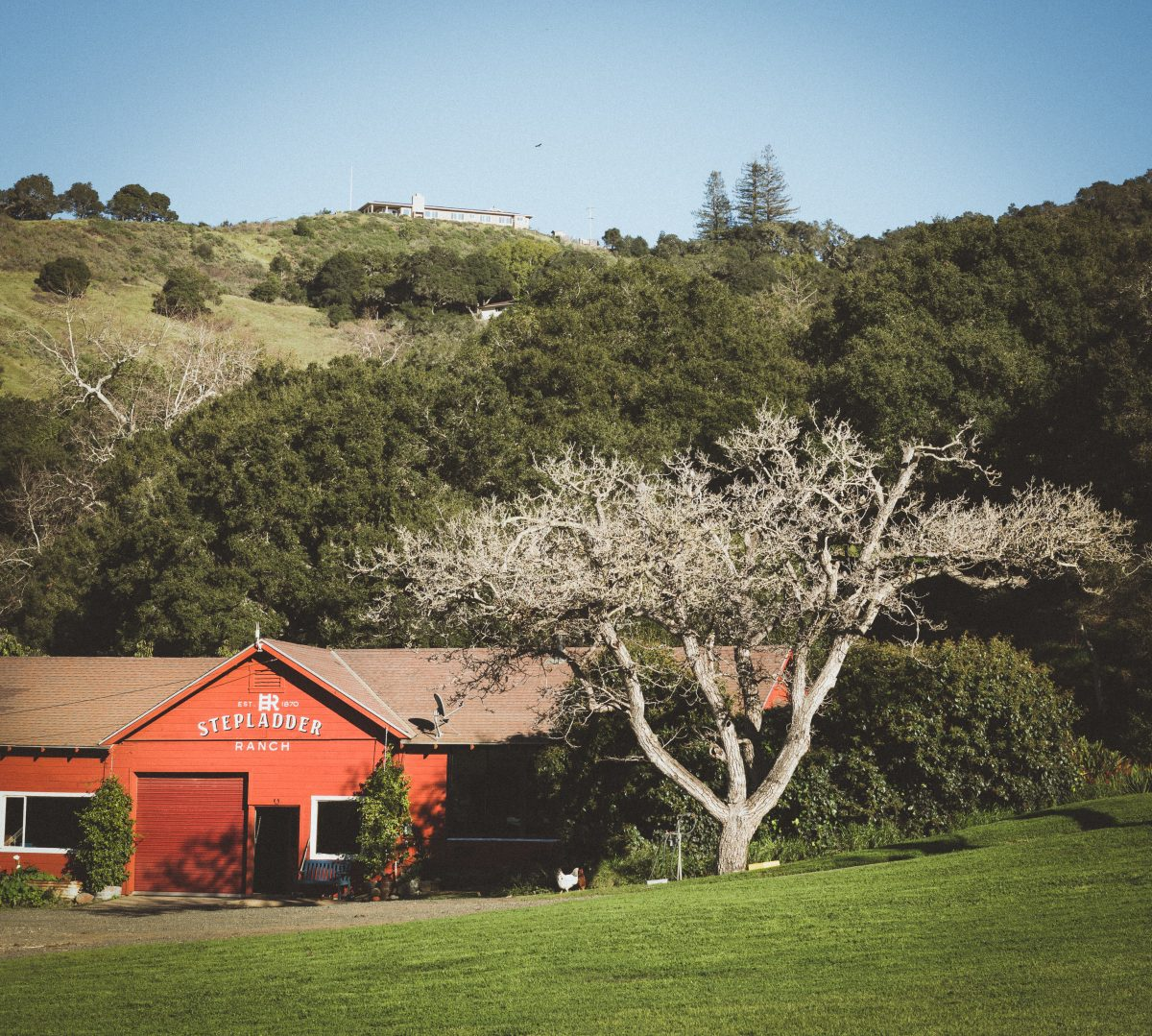 Stepladder Ranch: The Outdoor Wedding Venue...Can You Spot The Big House?