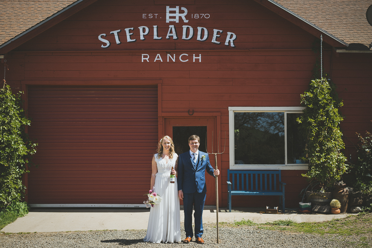 Stepladder Ranch Wedding Venue in Central California
