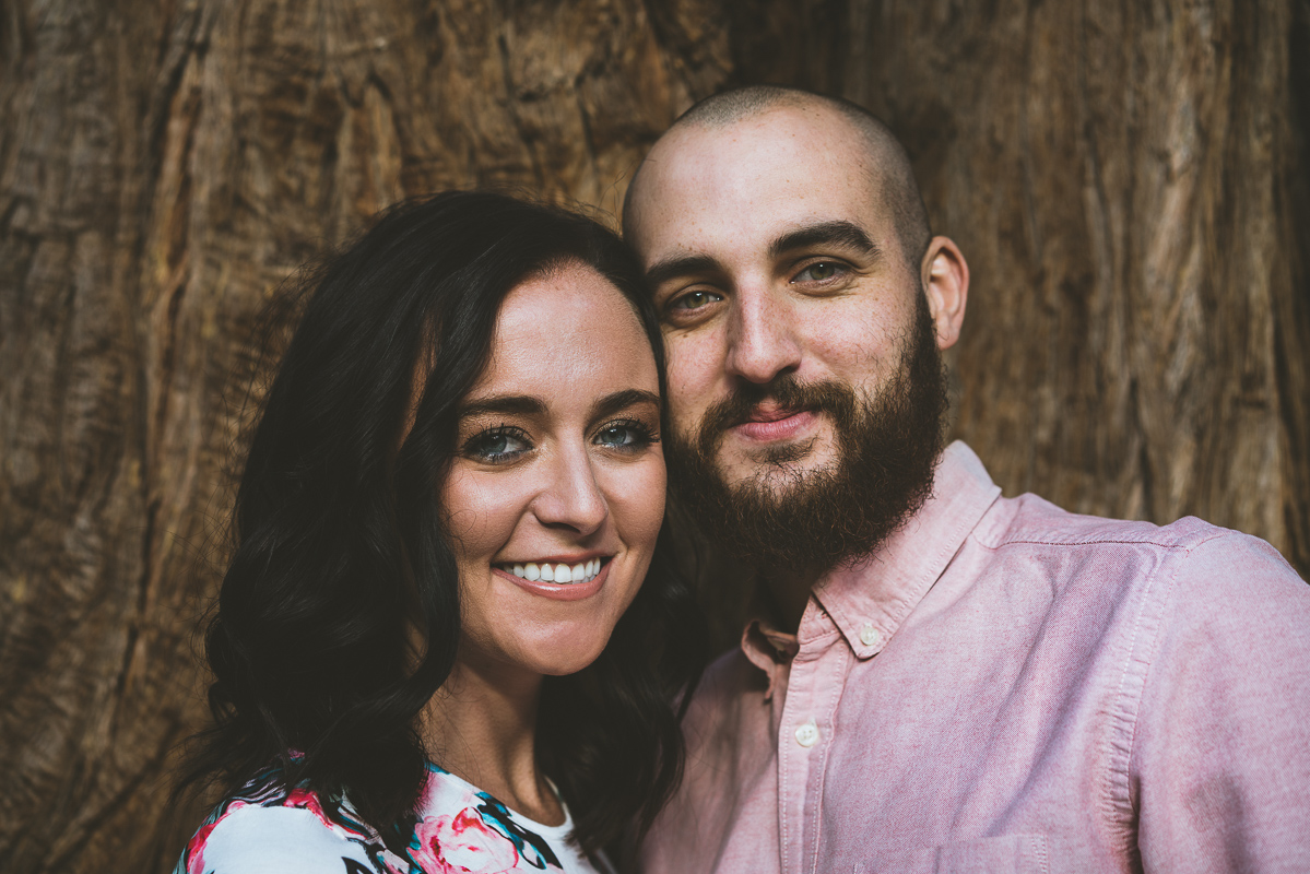 Couple Portraits in Mount Baldy