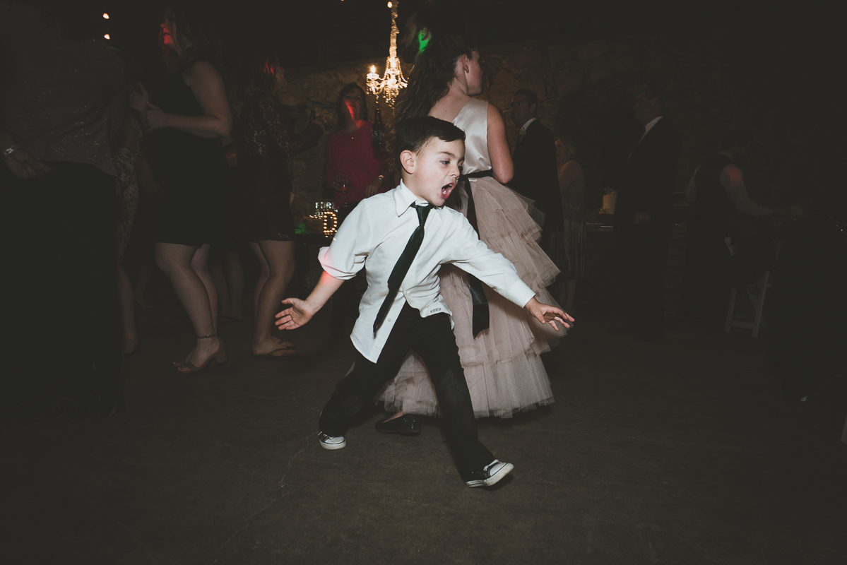 Little kid dancing