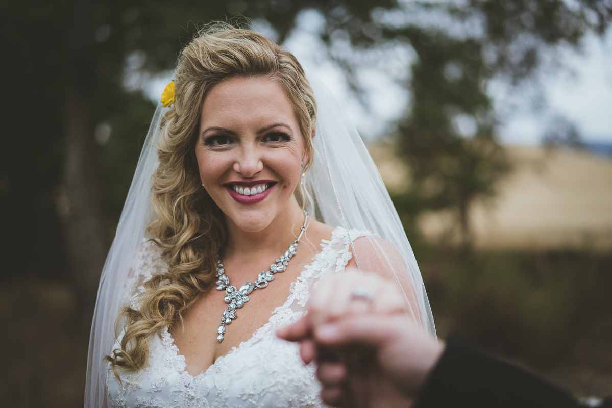 Gorgeous bride portrait