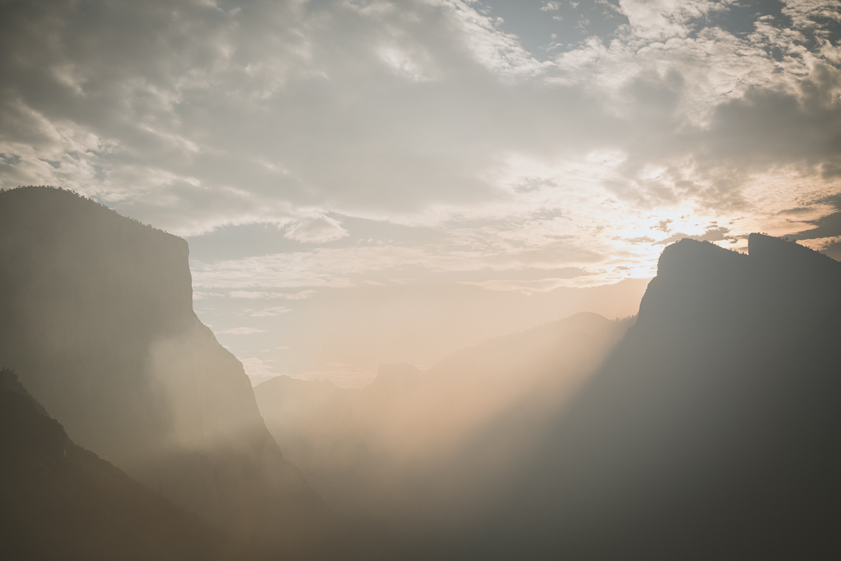Sunrise in Yosemite National Park