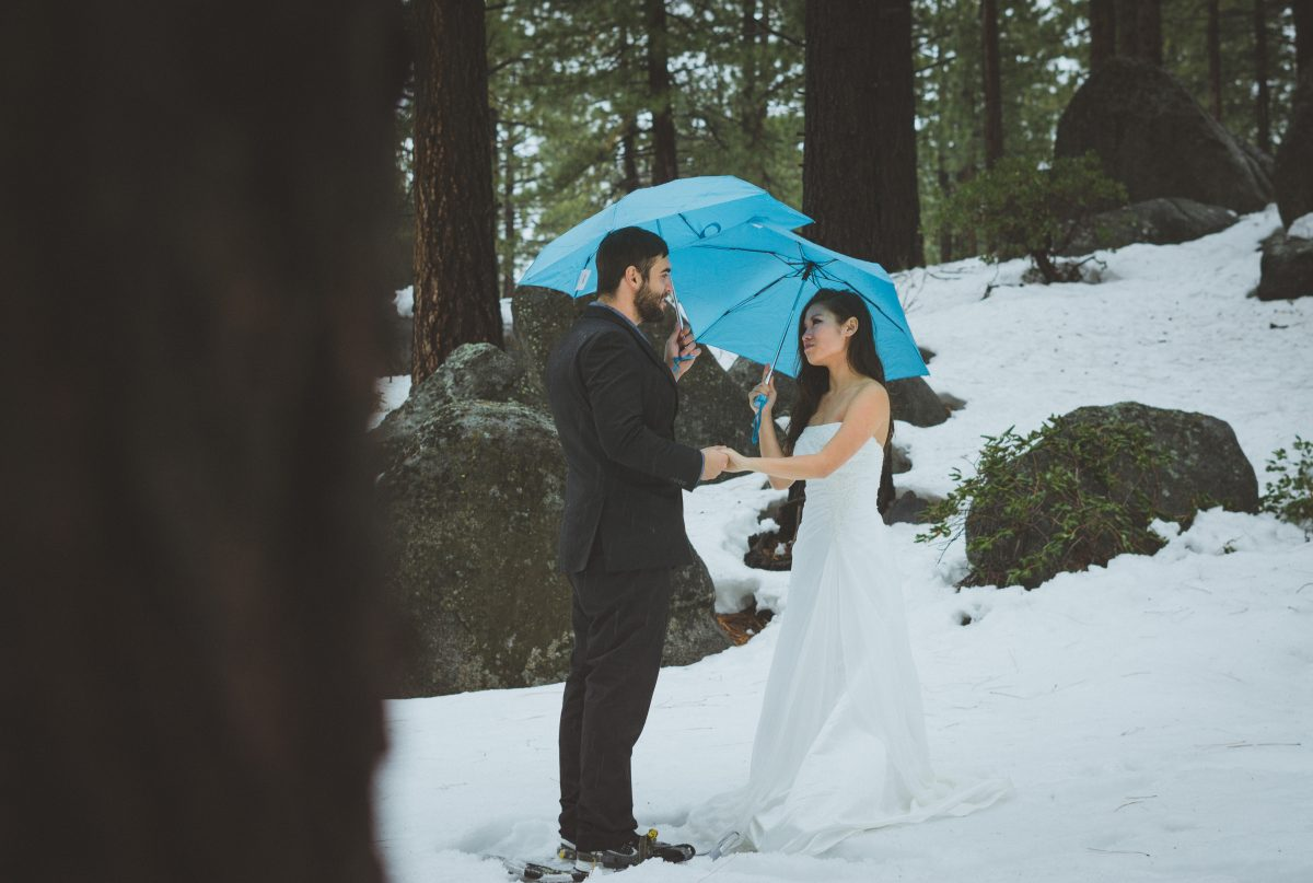 Lake Tahoe Elopement Photography