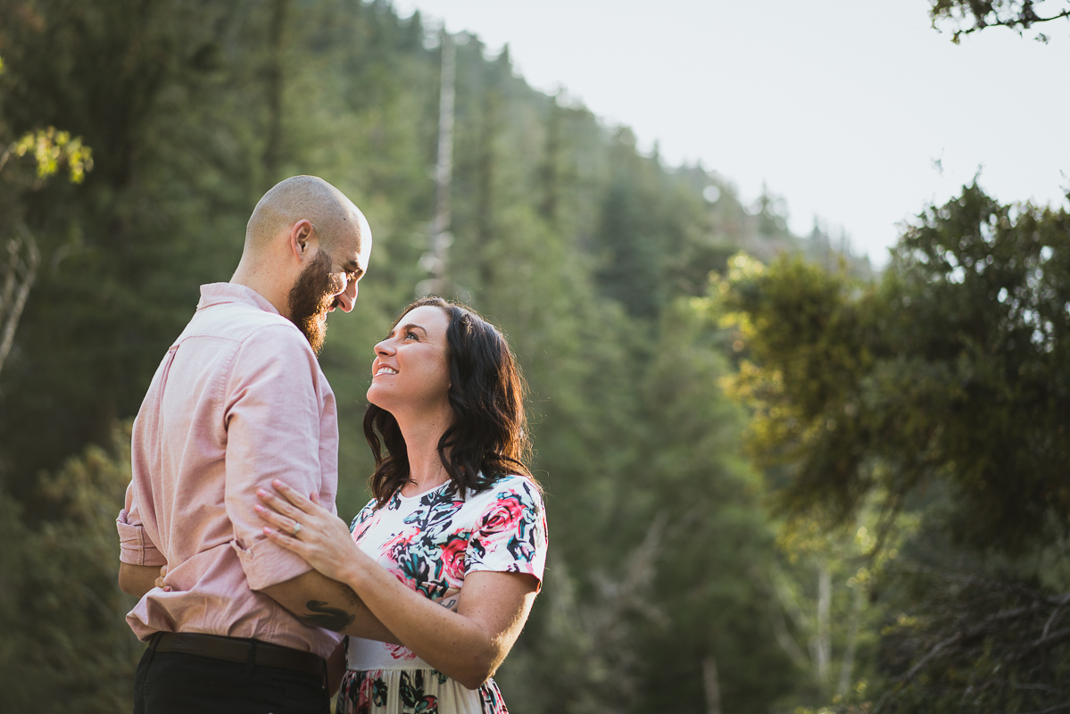 Mount Baldy Engagement Pictures