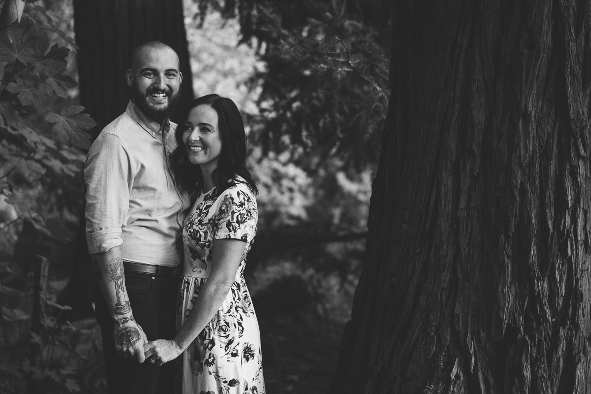Couple pictures in the forest