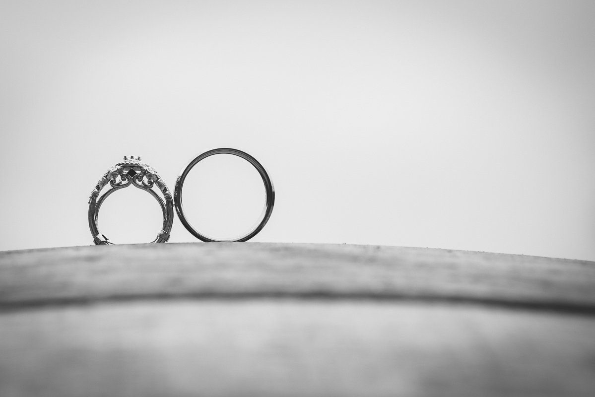 artistic wedding ring picture