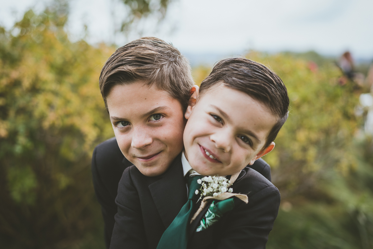 Cute ring bearers
