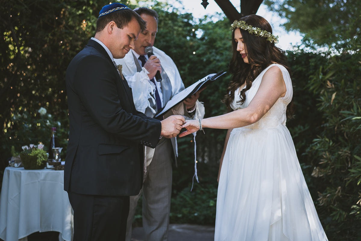 groom and the ring